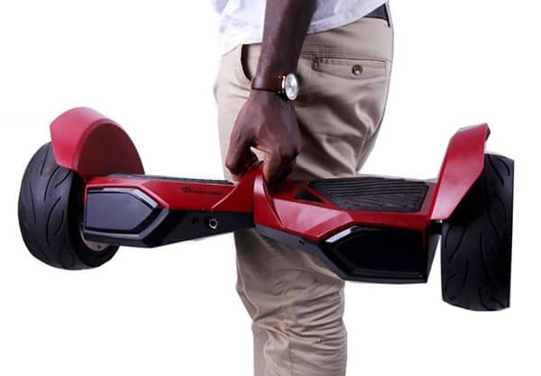 evercross hoverboard rojo 8,5